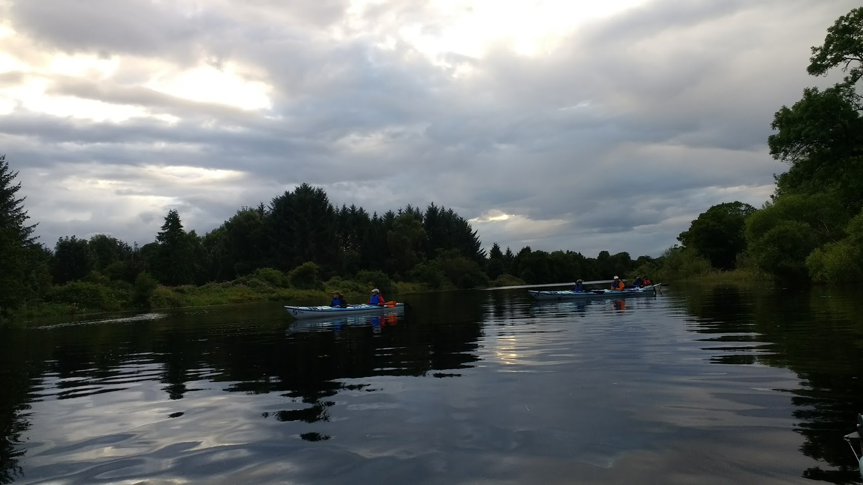 River Tay and Kayakers