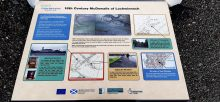 Interpretation panel about Lochwinnoch